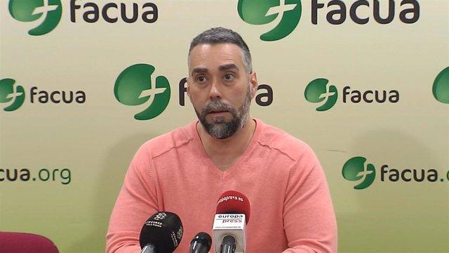 Archivo - Rubén Sánchez, portavoz de FACUA.