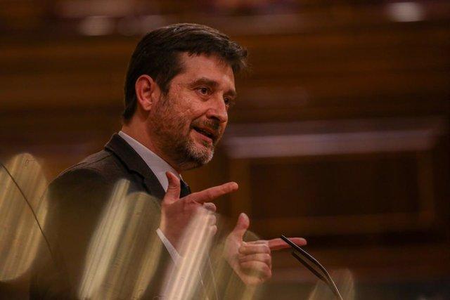 El portaveu de Podem, Rafa Mayoral (Arxiu)