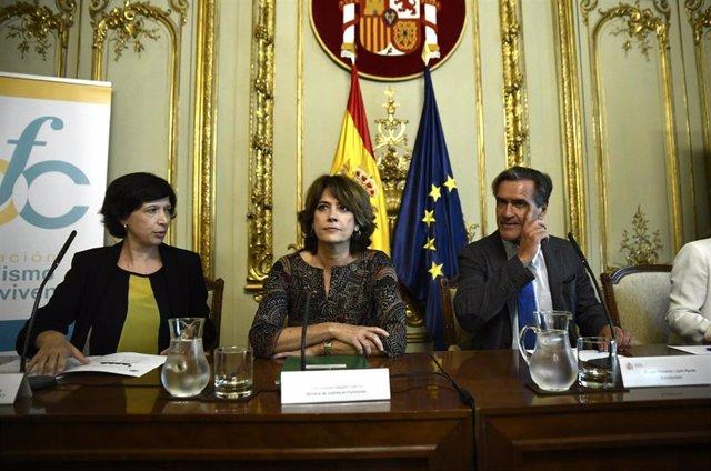 Archivo - Acto de presentación del programa del 15º aniversario de la Fundación Pluralismo y Convivencia en Madrid