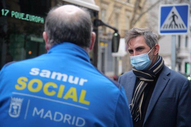El delegado de Familias, Igualdad y Bienestar Social, Pepe Aniorte.