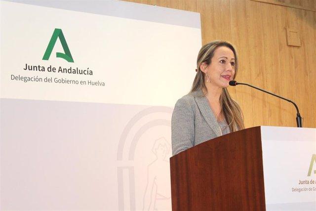 Archivo - La delegada de la Junta en Huelva, Bella Verano.