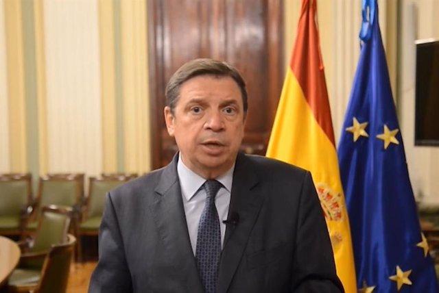 El ministro de Agricultura, Pesca y Alimentación, Luis Planas, en imagen de archivo