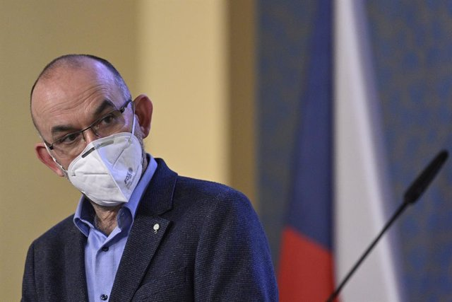Archivo - FILED - 13 January 2021, Czech Republic, Prague: Jan Blatny, Minister of Health of the Czech Republic, speaks during a press conference on the latest updates concerning the coronavirus pandemic. Photo: Michal Kamaryt/CTK/dpa
