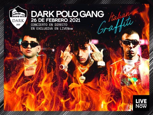El trío de trap italiano Dark Polo Gang dan el pistotetazo de salida a Italian Graffiti, el nuevo formato de LIVENow