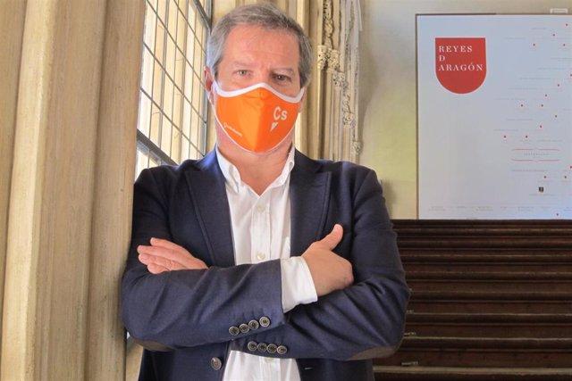 Daniel Pérez Calvo, líder de Ciudadanos en Aragón