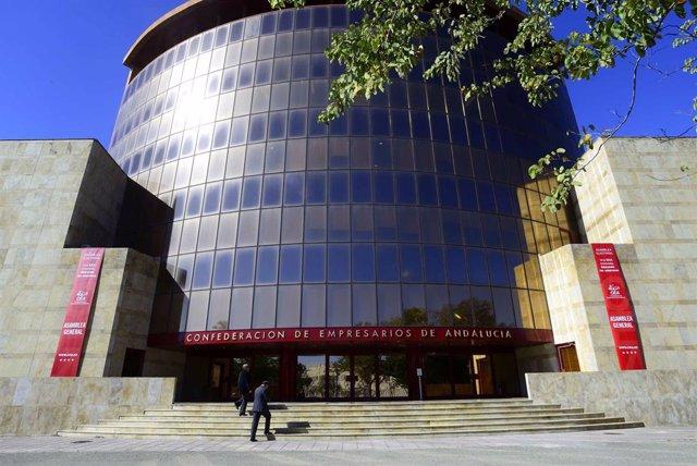 Archivo - La Confederación de Empresarios de Andalucía. Imagen de archivo.