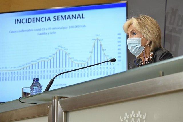 La consejera de Sanidad, Verónica Casado.