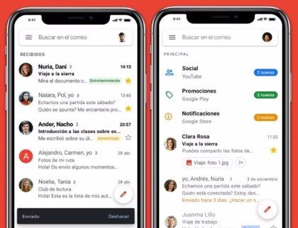 Gmail para iOS ya incluye las etiquetas de privacidad