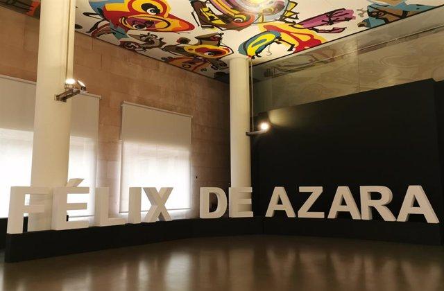 Espacio de la Diputación de Huesca donde se celebrará este viernes la XXIII Gala de Entrega del Galardón y Premios Félix de Azara.