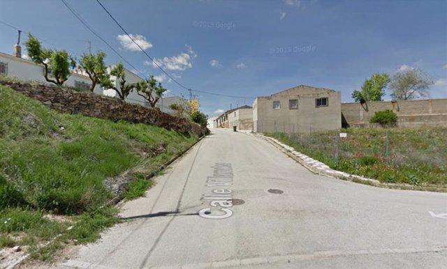 Calle Villamalea de Cenizate