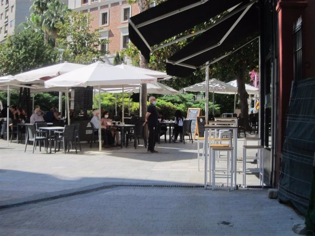 Archivo - Terraza en Jaén