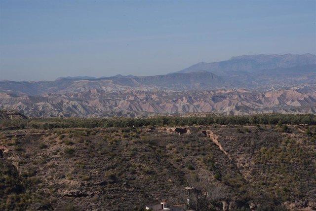 Paisaje del Geoparque de Granada