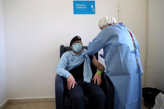 Vacunación contra el coronavirus en Lisboa