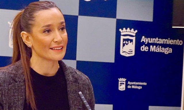 La portavoz del grupo 'popular' en el Ayuntamiento de Málaga, Elisa Pérez de Siles