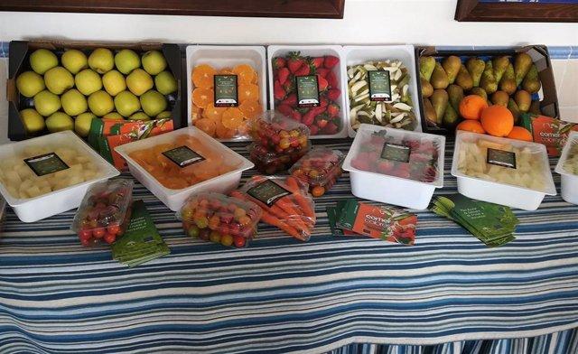 Imagen de archivo de frutas y hortalizas.