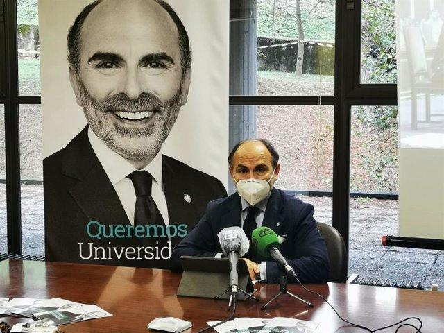 Archivo - Imagen de archivo del catedrático de Derecho Constitucional de la Universidad de Oviedo y rector electo Ignacio Villaverde