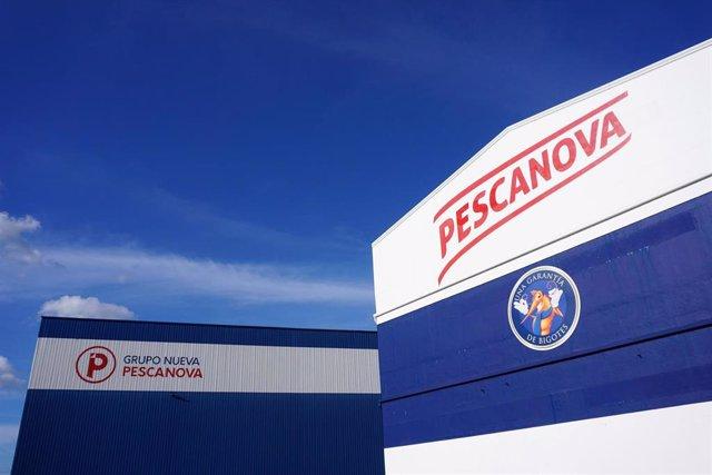 Instalaciones de la sede de Nueva Pescanova en Chapela, Redondela (Pontevedra).
