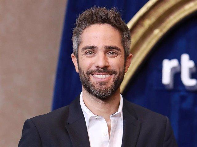 Archivo - Roberto Leal durante la presentación de la programación de Navidad de TVE