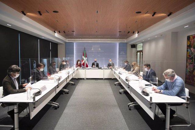 Reunión del Consejo de Colectividades Vascas
