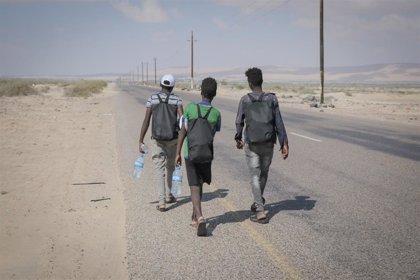 La pandemia provoca una caída de un 73% de la migración desde el Cuerno de África a países del Golfo