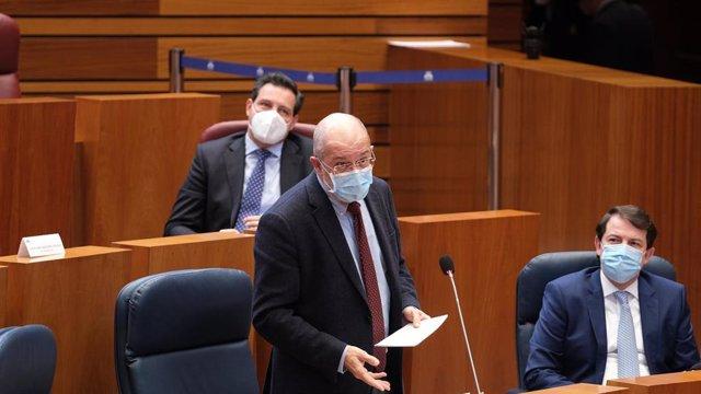 Igea, durante una de sus intervenciones en el pleno de ayer.