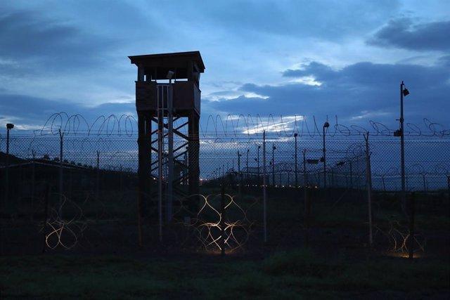 Archivo - Imagen de archivo del centro de detención de Guantánamo.