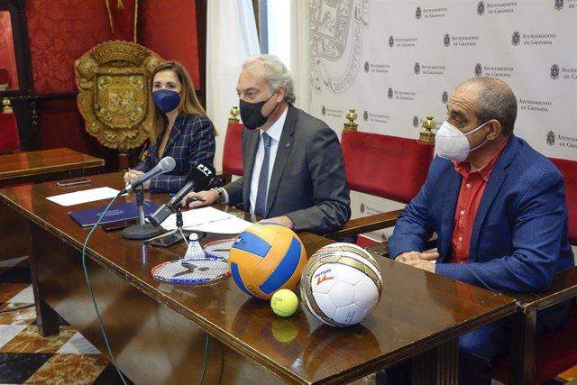 Presentación de un programa deportivo para colectivos en riesgo de exclusión social