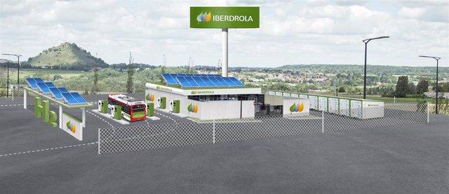 Prototipo de la estación de hidrógeno de Iberdrola