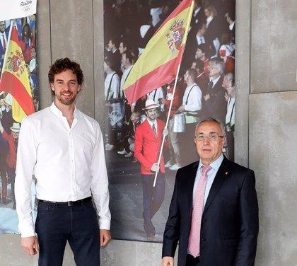 """Alejandro Blanco: """"Bienvenido de nuevo a casa, Pau"""""""
