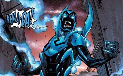 En marcha Blue Beetle, el primer superhéroe latino en protagonizar su película en solitario