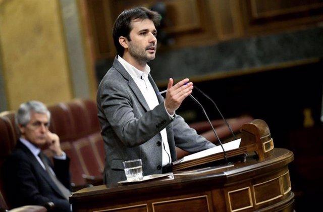 Javier Sánchez Serna, coordinador autonómico de Podemos y diputado de Unidas Podemos en el Congreso