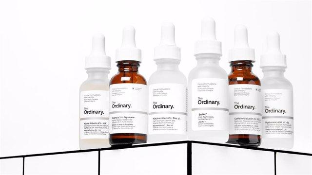 Productos de la marca The Ordinary, de Deciem.