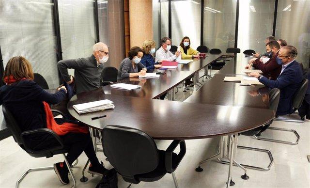 Reunión de la Mesa técnica del Deporte