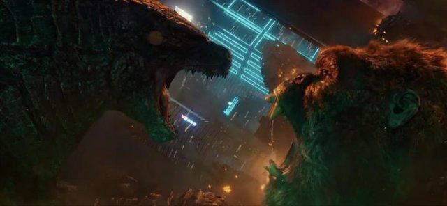 Godzilla vs. Kong: Los dos titanes enseñan los dientes en dos nuevos adelantos