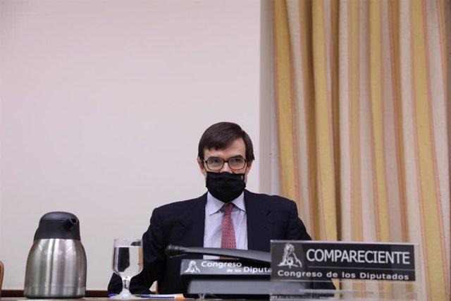 Archivo - El secretario de Estado para la Unión Europea, Juan González-Barba.