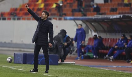 "Simeone: ""No creo que nos faltase ser más valientes"""