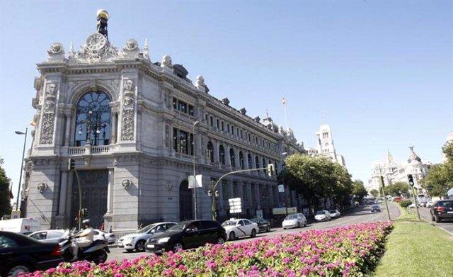 Archivo - Sede del Banco de España