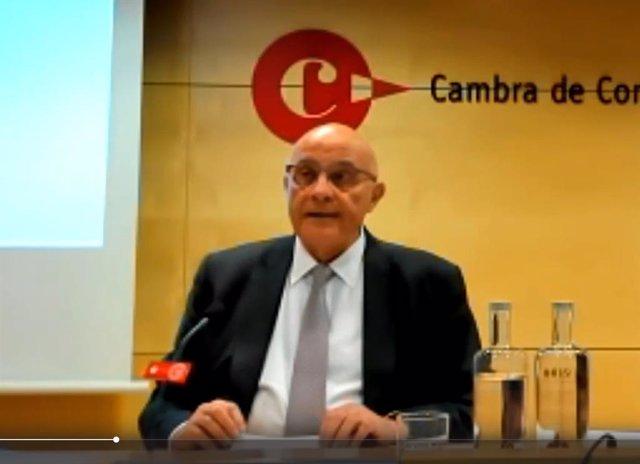 El presidente de Banco Sabadell, Josep Oliu, este miércoles