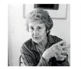 La poeta, pintora y traductora Felícia Fuster.