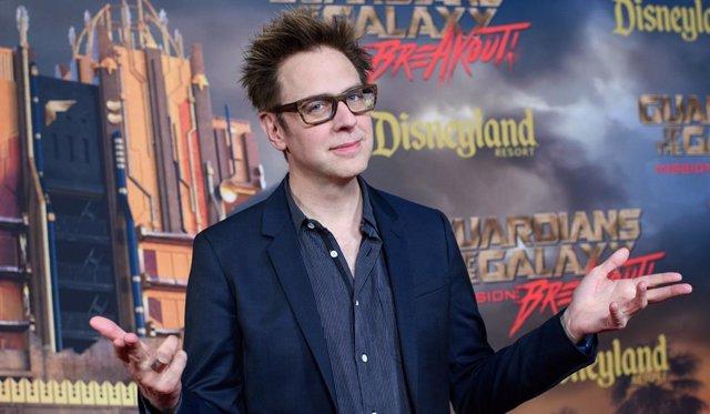Archivo - James Gunn presenta Guardianes de la Galaxia en Disneyland