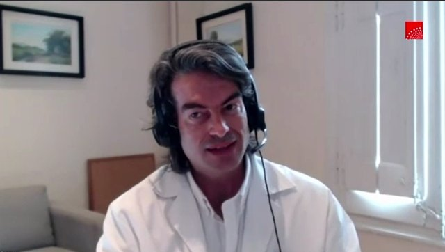 Carlos Mur de Víu, exdirector de Coordinación Sociosanitaria de la Comunidad de Madrid