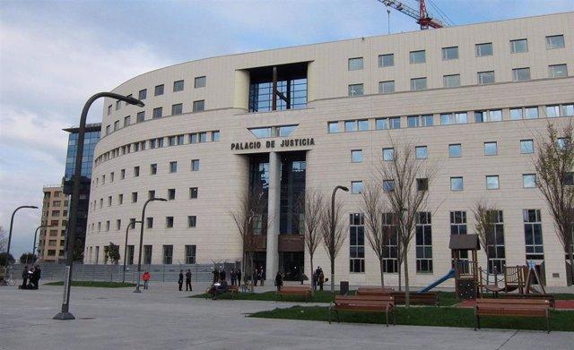 Archivo - Palacio de Justicia de Pamplona.