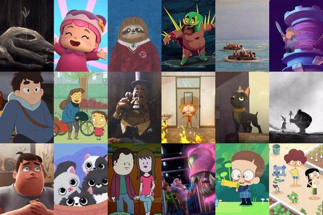Obras preseleccionadas a los 'Premios Quirino' de animación