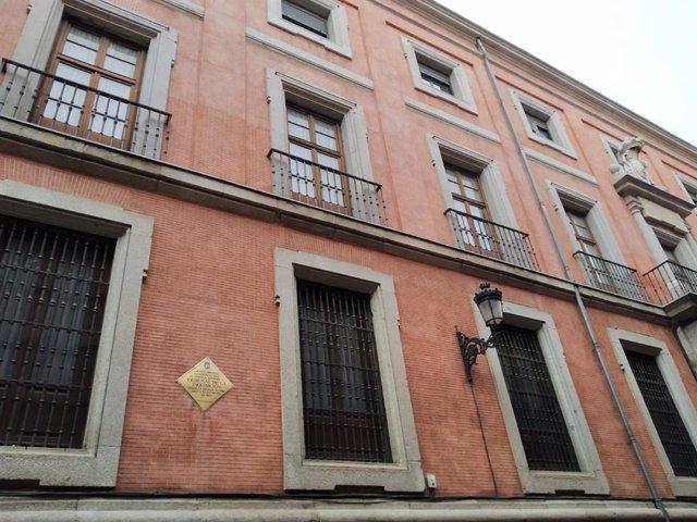 Archivo - Fachada del Convento de las Reparadoras en Madrid, antigua sede de la Inquisición.