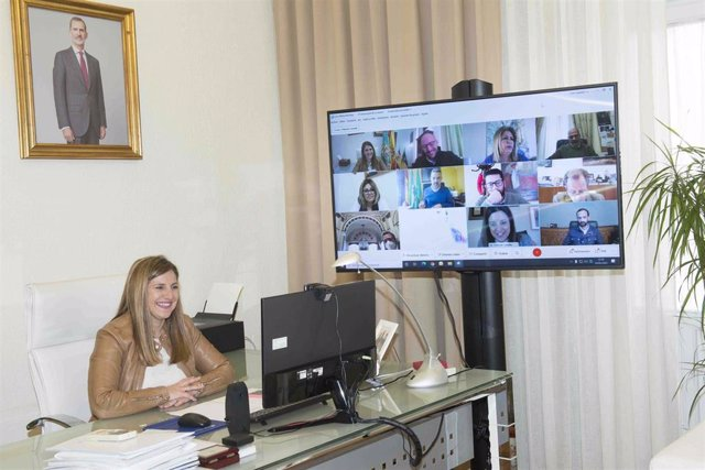 Irene García reunida con alcaldes de Bahía, Jerez y Costa Noroeste