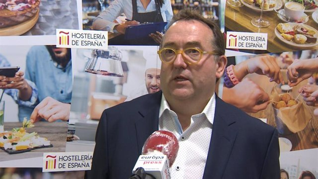 El presidente de Hostelería de España, José Luis Yzuel