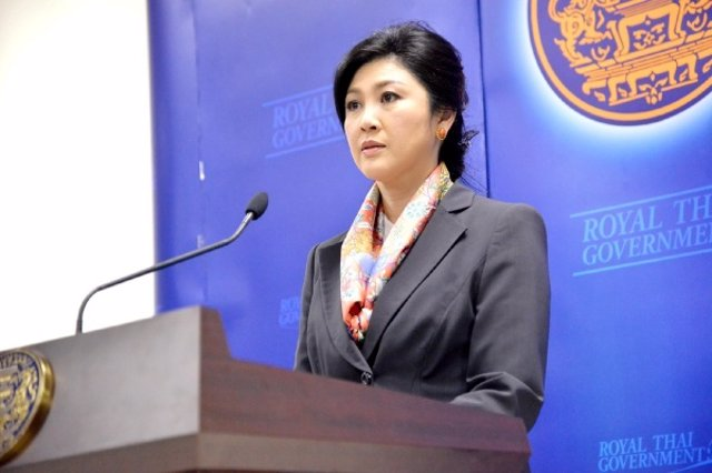 Archivo - La ex primera ministra de Tailandia Yingluck Shinawatra