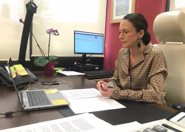 La Consejera de Derechos Sociales y Bienestar, Melania Álvarez.