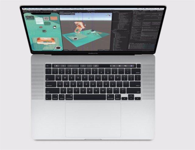 Archivo - MacBook Pro 16 pulgadas