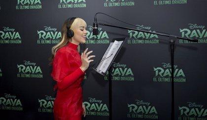 Danna Paola pone música a Raya y el último dragón